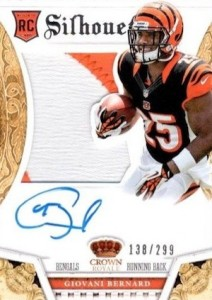 Giovani Bernard Rookie Card Checklist and Guide 23