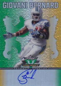Giovani Bernard Rookie Card Checklist and Guide 38