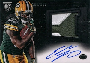 Eddie Lacy Rookie Card Checklist and Visual Guide 5