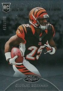 Giovani Bernard Rookie Card Checklist and Guide 20