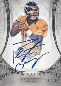 Top Peyton Manning Autograph Cards to Collect 10