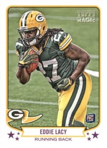 Eddie Lacy Rookie Card Checklist and Visual Guide 53