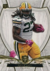 Eddie Lacy Rookie Card Checklist and Visual Guide 63