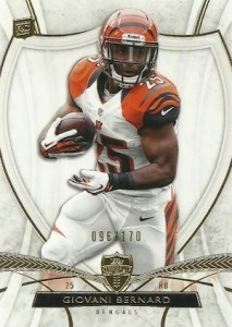 Giovani Bernard Rookie Card Checklist and Guide 16