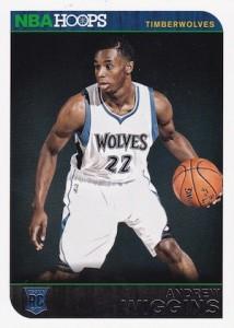 2014-15 NBA Hoops Andrew Wiggins RC #261