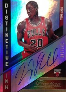 2014-15 Panini Prestige Basketball Distinctive Ink