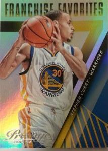 2014-15 Panini Prestige Basketball Franchise Favorites