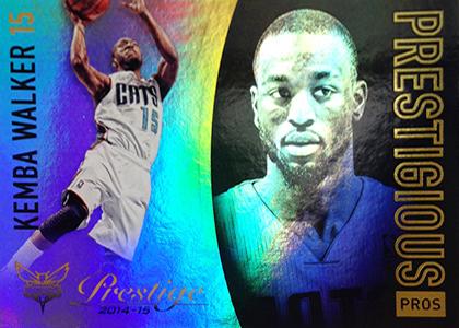 2014-15 Panini Prestige Basketball Prestigious Pros