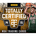 2014-15 Panini Totally Certified Basketball Cards