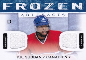 2014-15 Upper Deck Artifacts Hockey Frozen Artifacts
