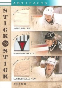 2014-15 Upper Deck Artifacts Hockey Stick to Stick Trios