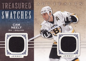 2014-15 Upper Deck Artifacts Hockey Treasured Swatches