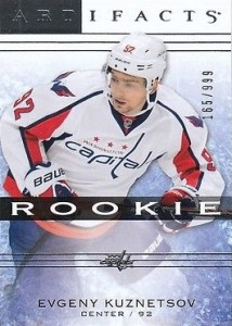 2014-15 Upper Deck Artifacts Hockey rookies Kuznetsov