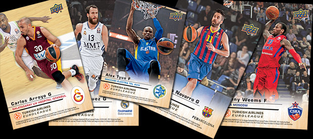 Upper Deck Signs Exclusive Trading Card Deal with Euroleague Basketball 1
