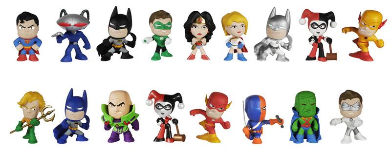 2014 Funko DC Comics Mystery Minis Figures
