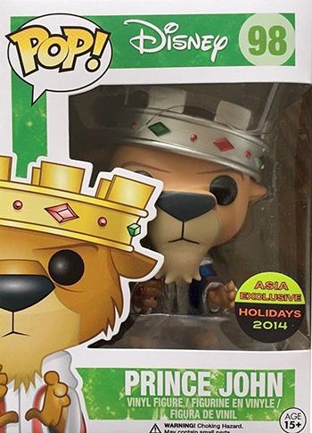 2014 Funko Pop Disney Robin Hood Vinyl Figures 3