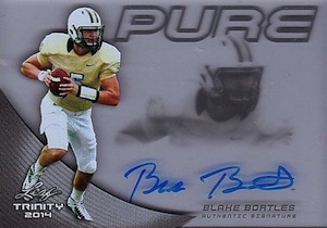 2014 Leaf Trinity Pure Autograph Blake Bortles