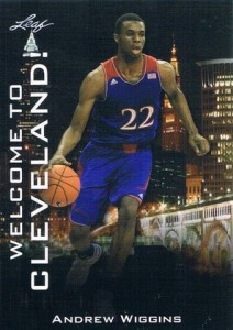2014 NSCC Leaf Welcome to Cleveland Andrew Wiggins