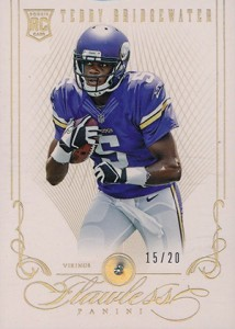 2014 Panini Flawless Football Base Rookie Teddy Bridgewater