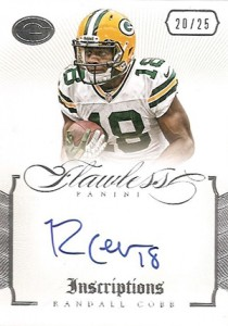2014 Panini Flawless Football Cards 25