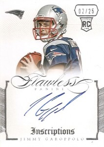 2014 Panini Flawless Football Cards 29