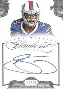 2014 Panini Flawless Football Cards 28