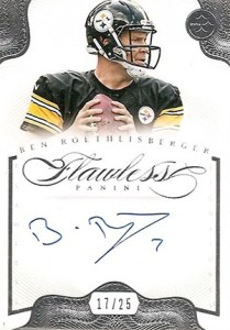 2014 Panini Flawless Football Signatures Ben Roethelisberger