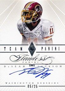 2014 Panini Flawless Football Cards 32