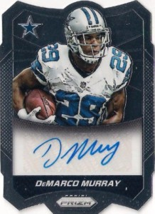 2014 Panini Prizm Football Autographs DeMarco Murray