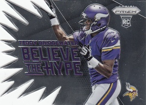 2014 Panini Prizm Football Believe the Hype Bridgewater