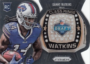 2014 Panini Prizm Football Class Rings Sammy Watkins