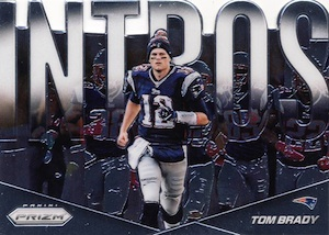2014 Panini Prizm Football Intros Tom Brady