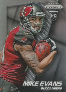 2014 Panini Prizm Variation Mike Evans Facing Right