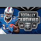 2014 Panini Totally Certified Football Cards
