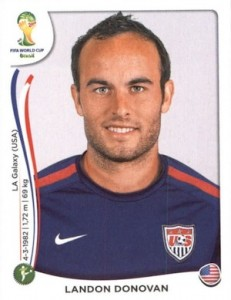 2014 Panini World Cup Stickers Landon Donovan #561