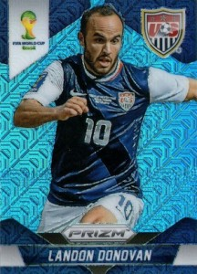 2014 Prizm World Cup Base Blue Landon Donovan