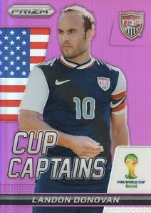 2014 Prizm World Cup Captains Purple Landon Donovan