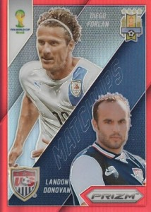 2014 Prizm World Cup Matchups Red Landon Donovan