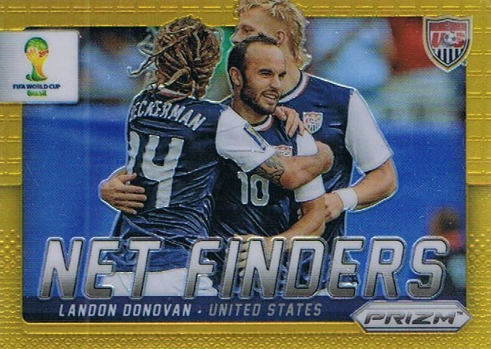 2014 Prizm World Cup Net Finders Gold Landon Donovan