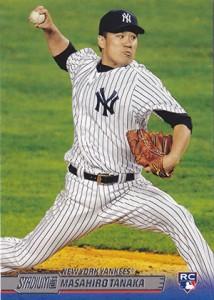2014 Stadium Club Masairo Tanaka