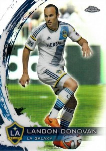 2014 Topps Chrome MLS Base Refractor Landon Donovan #3