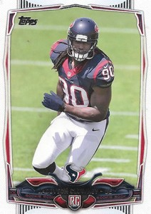 2014 Topps Football Retail Rookie Factory Set Variation Jadeveon CLowney