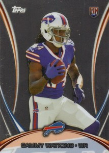 2014 Topps Mega Football Chrome Special Edition 4 Sammy Watkins