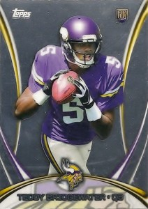 2014 Topps Mega Football Chrome Special Edition 5 Teddy Bridgewater