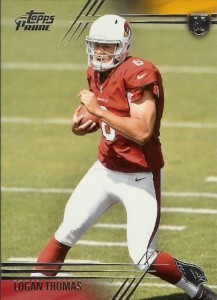 2014 Topps Prime FB Variation 111 Logan Thomas