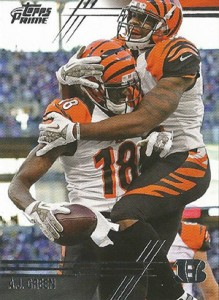 2014 Topps Prime FB Variation 60 AJ Green