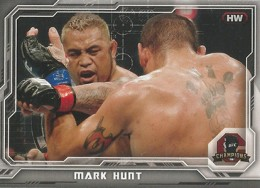 2014 Topps UFC Champions Nickname Variations Guide 37