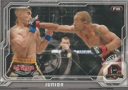 2014 Topps UFC Champions Nickname Variations Guide 24