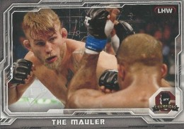 2014 Topps UFC Champions Nickname Variations Guide 32