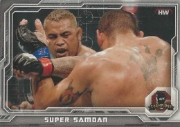 2014 Topps UFC Champions Nickname Variations Guide 38